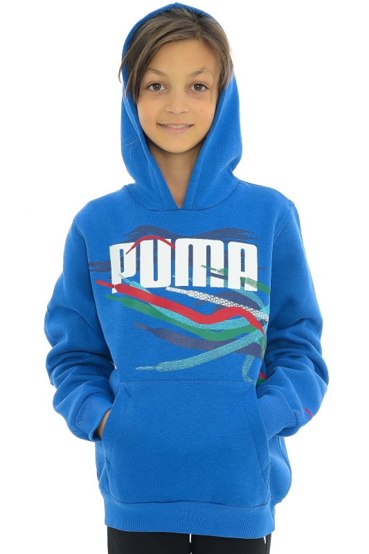 Hanorac PUMA pentru copii Hanorac PUMA pentru copii LACE HOODED SWEAT