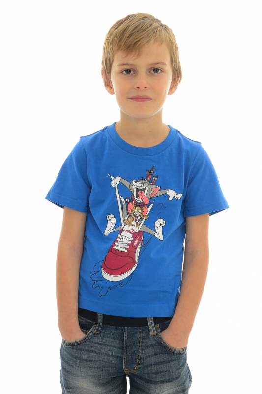 Tricou PUMA pentru copii Tricou PUMA pentru copii TOM AND JERRY TEE